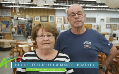 Huguette Ouellet et Marcel Bradley