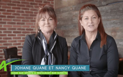 Nancy et Johane Quane